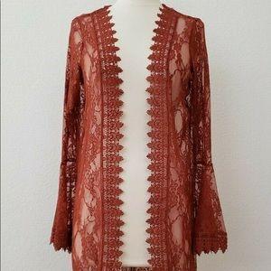 Lace Kimono Duster